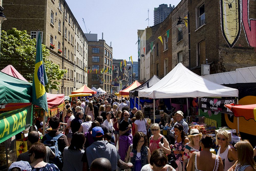 Bethnal Green Street Party
