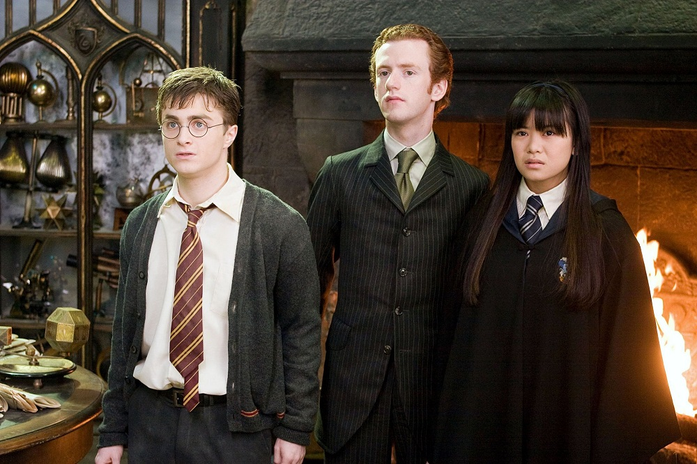 Chris Rankin aka Percy Weasley (centre) will be talking at the conference