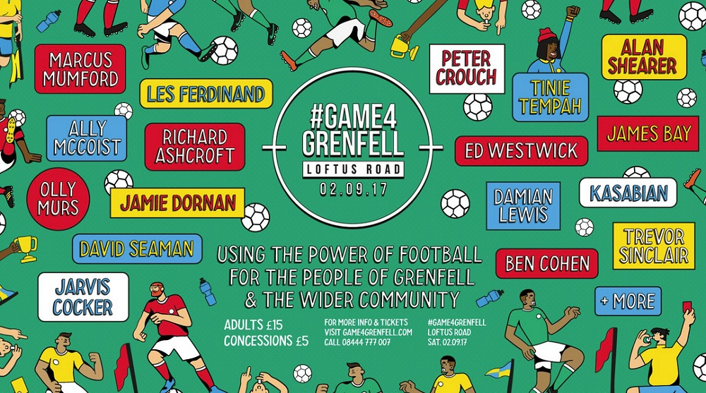 #Game4Grenfell