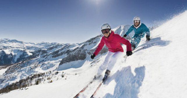 Ski competition