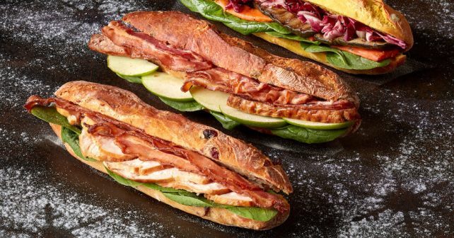 Xmas sandwiches